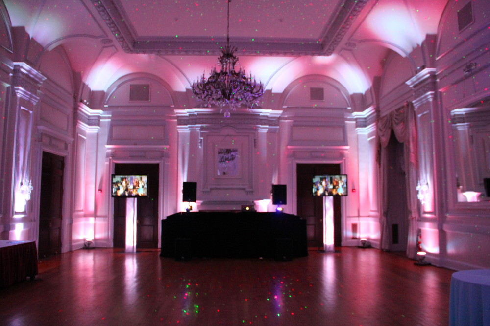 wedding, DJ, televisions, new york, long island, slideshow